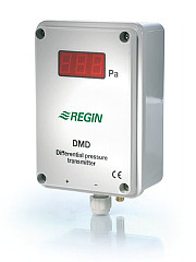 DMD-C - Differential pressure transmitter with built- in controller